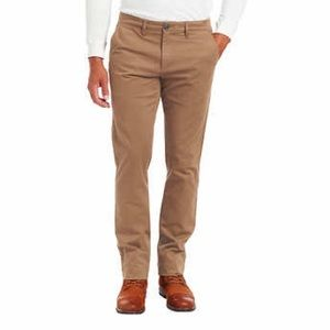 Jachs New York Men's Flannel Lined Chino Pant